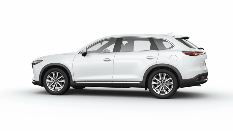 MazdaCX-9SnowFlakeWhitePearlMica